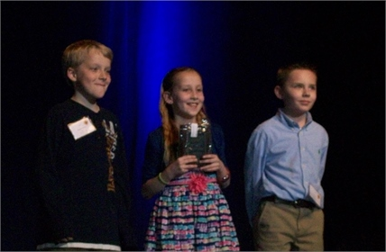 Cartmell STLP students H.R., K.L., and A.F. placed 1st in NKU Mobile App design at the State competition on March 26, 2015.